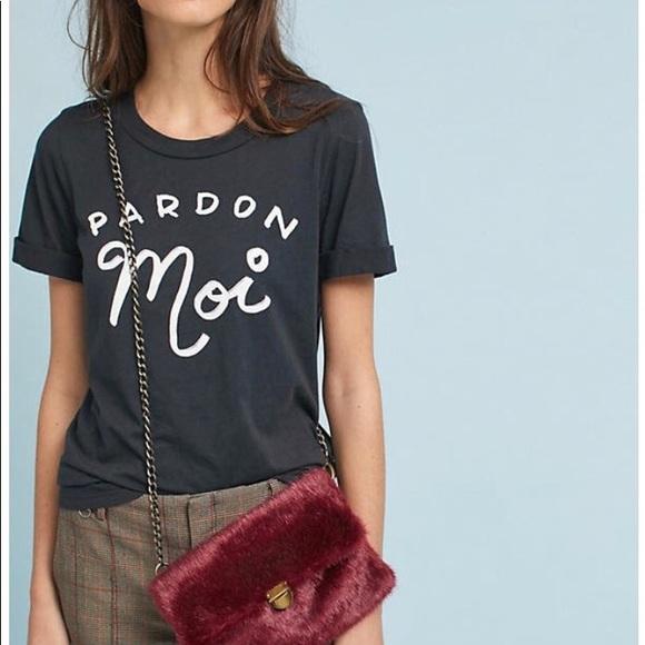 94e755eb Sol Angeles Tops | Pardon Moi Cuffed Graphic T Shirt | Poshmark